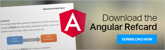 Download the Angular Refcard