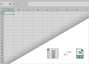 Ignite UI スプレッドシート:Excelデータの読み込みと保存