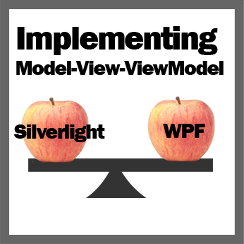 Comparing apples to apples: Implementing Model-View-ViewModel in Silverlight and WPF